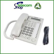Panasonic KX-T7730 EW Telephone in White NEW