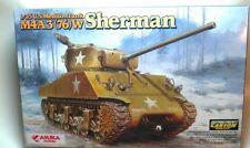ASUKA MODEL 35-019 - 1/35 US MEDIUM TANK M4A3(76)W SHERMAN - NEU