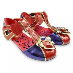 Disney Store Snow White Girls Costume Dress Shoes Gem Princess Seven Dwarfs NEW