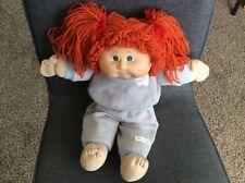 Cabbage Patch Doll 1985 Coleco Red Orange Yarn Hair Green Eyes