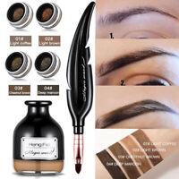 FP- Waterproof Eyebrow Gel Long Lasting Tint Henna Shade Makeup Cream  Eye Makeu