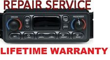 97-04 CORVETTE C5 CLIMATE CONTROL LCD HVAC A/C REPAIR SERVICE LIFETIME WARRANTY