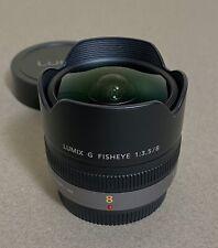 Panasonic LUMIX 8mm f/3.5 AF Lens
