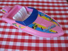 BARBIE Speed Boat WET N WILD MATTEL 1990 ARCO Doll Cigar Cigarette Style