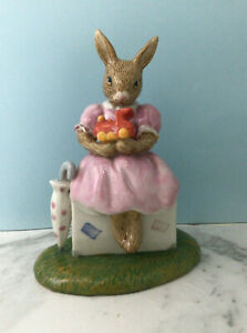 Royal Doulton Bunnykins DB482 - Sitting On A Suitcase