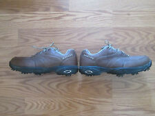 👞 ⛳ Oakley Golf Shoes Brown Size 8W  👞 ⛳