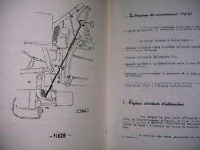 catalogue pièces détachées faucheuse PUZENAT tracteur SOM 40 - 1958 sevita