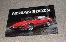 Nissan 300ZX & 300 ZX Turbo Z31 Rare Sales Brochure 1984