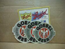 Goebel (4) Beer Labels-Michigan