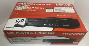 Magnavox DV220MW9 DVD Player And 4 Head VCR Line-In Recording > FACTORY SEALED <