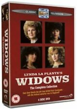 Widows - Complete Collection 4 X DVD Set Series One & Two 1 2 Cond