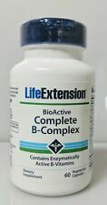 Bioactive Complete B Complex, Life Extension, 60 capsule 1 pack