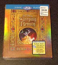 SLEEPING BEAUTY Blu-Ray SteelBook Best Buy Exclusive 3-Disc 2009 SlipCover Rare!