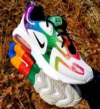 New CUSTOM Nike Air Max 200 Rainbow Galaxy AQ2568-002 Men Size 6 Women Size 7.5