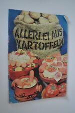 """DDR Kochheft Rezeptheft """"Allerlei aus Kartoffeln"""""""
