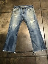 vintage levis jeans 501 Destroyed made in usa W36 L 31