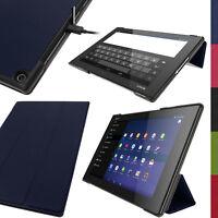 Cuir PU Étui Housse Smart Case pour Sony Xperia Z2 10.1 SGP511 Tablet Flip Cover