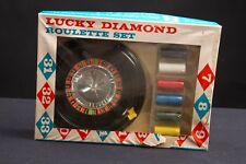 1960's Lucky Diamond #139 Roulette Set Casino Game by Baron Co. Inc. USA Unused