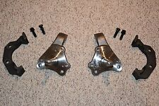 1962-74 Mopar B E Body Stock Spindles & Caliper Brackets Chrysler Dodge Plymouth