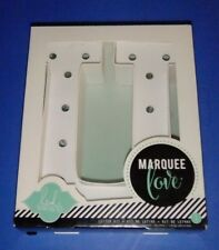 """Heidi Swapp Marquee Love 8"""" Letter Kit """"U"""" New In Box LED Light Strand Included"""