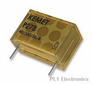 KEMET P278HE222M480A Film Capacitor, P278 Series, 2200 pF, ± 20%, Paper (M