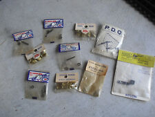 Lot of 10 Vintage RC Car Parts Packs Lugs Eyelets Adj Horn Servo Arm NIP