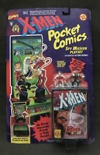 NIB X-Men #7 POCKET COMICS Spy Mission Playset by ToyBiz - Wolverine, Omega Red