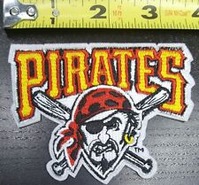 """Pittsburgh Pirates  3.75"""" Iron/Sew On Embroidered Patch~FREE SHIPPING FROM U.S.~"""