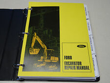 Ford H45 Excavator Factory Service Manual Repair Shop Book NEW with Binder