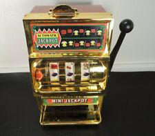 Vintage WACO Casino Mini Jackpot Slot Tin Toy One Armed Bandit Japan