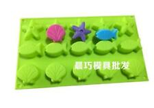 Sea Fish Shell Cake Soap Mold Silicone Mould For Candy Chocolate Cookie Craft