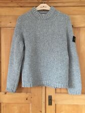 Stone Island Winter Pullover Größe L grau Garantiert Original Sehr guter Zustand