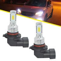 1Pair 9005 HB3 LED Headlights Bulbs Kit High Beam 12V-24V 35W 4000LM 6000K White