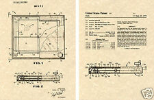 ETCH-A-SKETCH US PATENT Art Print  READY TO FRAME! Ohio Earl Clark toy
