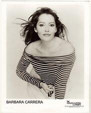BARBARA CARRERA SEEKS A MOVIE OR TELEVISION ROLE: HEADSHOT AND RESUME