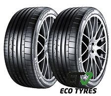2X Tyres 255 35 ZR19 96Y XL Continental ContiSportContact6  E A 73dB