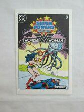 Vintage Super Powers Collection WONDER WOMAN Mini Comic #3