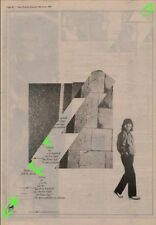 George Harrison Somewhere In England Advert NME Cutting 1981