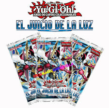 3 SOBRES EL JUICIO DE LA LUZ EN ESPAÑOL -YUGIOH- 3 X JUDGMENT OF THE LIGHT