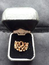 ladies 9ct gold rings used
