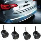 4x Parking Sensors Car Auto Reverse Backup Rear Radar Led Alert System Kit New