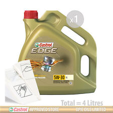 Engine Oil Service Kit: 4 litres of Castrol EDGE 5w30