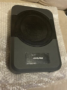 """Alpine PWE-S8 8"""" Compact Powered Subwoofer *Woofer Only *NEW"""