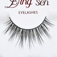 Soft Long Natural Elegant 100% Real Mink Thick Makeup Eye Lashes False Eyelashes