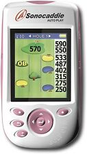 Rare new/open box Sonocaddie N091-1BB Lady Auto Play Preloaded Golf GPS (Pink)