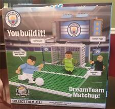 You Build It! Manchester City Soccer Futball Playmaker Set NIB Free Shipping
