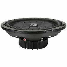 "NEW Kicker 10CVT124 12"" Single CompVT Series 4 ohm Shallow-Mount Car Subwoofer"