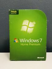 Microsoft Windows 7 Home Premium 64 Bit Upgrade