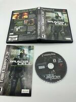 Sony PlayStation 2 PS2 CIB Complete Tested Tom Clancy's Splinter Cell Ships Fast