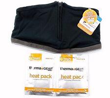 Therma Gear riscaldato al collo caldo basso di lenza Termico Wind Impermeabili + 2 pacchetti caldi